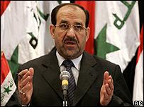Iraq's Prime Minister-designate Nouri Maliki