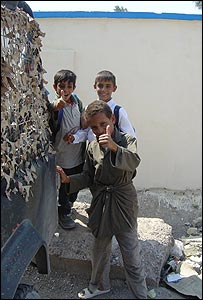 Iraqi youngsters