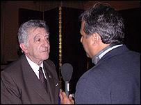Reinaldo Gargano, canciller uruguayo.