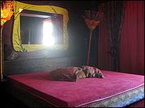 Brothel boudoir