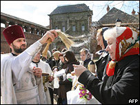 Russian Orthodox Easter in Moscow