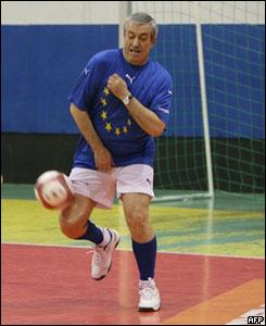 El primer ministro rumano, Calin Popescu-Tariceanu