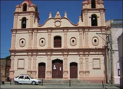 Iglesia del Carmen, Cuba. Foto: Ramon Diaz