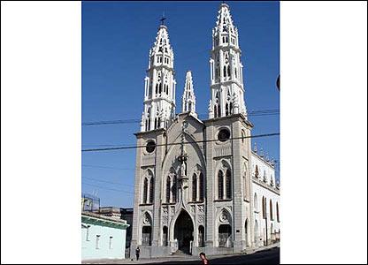 """""""La Iglesia de los Pasionistas de la V�bora, en La Habana, Cuba"""". Foto: Javier Abreu."""