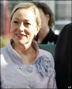 La comisionada europea para las Relaciones Exteriores,  Benita Ferrero Waldner .