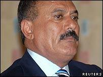 Yemen President Ali Abdullah Saleh