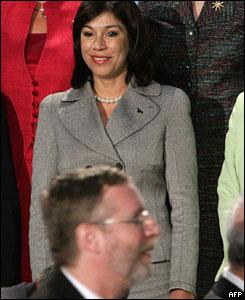 Ana Vilma de Escobar, vicepresidenta de El Salvador.