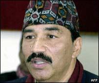 Former Home Minister Kamal Thapa