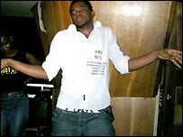 DJ Lewis dancing