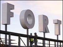 Fort Dunlop sign