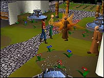 Screenshot from Runescape