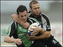Action from the Ospreys' win over Connacht
