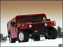 Hummer H1 модели 2004 года