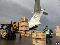 Aid for Asian tsunami
