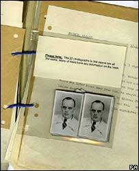 File on Walter Moerz