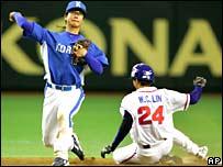 Jugadores de b�isbol.