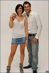 Kym Marsh and Antony Costa