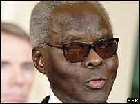 Benin President Mathieu Kerekou