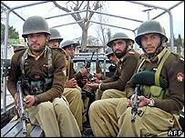Пакистанские солдаты в Северном Вазиристане