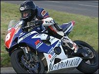 TAS Suzuki rider Bruce Anstey