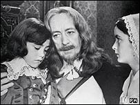 Charles I, played by Sir Alec Guinness 