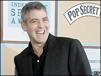 George Clooney at the Independent Spirit Awards