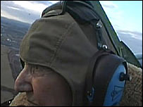"Alex Henshaw, 93, flew his first ""Spit"" on his birthday in 1939"