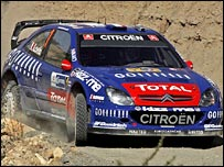 World champion Sebastien Loeb
