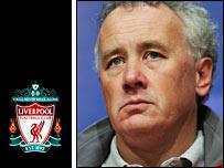 Liverpool chief executive Rick Parry