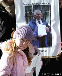 Vigil for Norman Kember