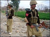 Pakistani soldiers in North Waziristan