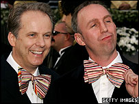 Nick Park (l) and Steve Box