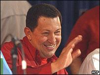 Presidente Ch�vez en la cumbre alternativa