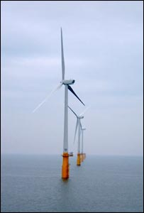 Barrow offshore wind farm