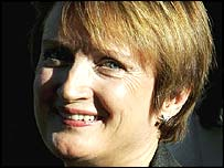 Tessa Jowell leaving her north London home on Monday, 6 March