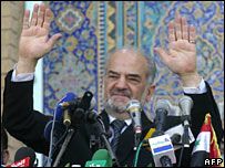 Iraqi leader Ibrahim Jaafari