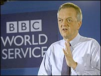 BBC World Service director Nigel Chapman