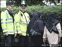 Police and Muslim women