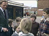 Mr Heseltine came to Liverpool after the Toxteth riots