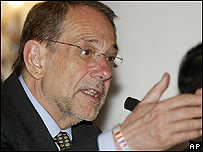 The European Union's top diplomat Javier Solana