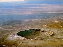 Meteor (Barringer) Crater, Nasa