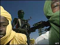 Rebeldes de Darfur