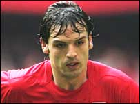 Liverpool striker Fernando Morientes