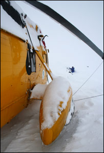 Sea King stranded in the Cairngorms/Pic: Andreas Heinzl