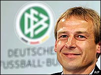 Germany manager Juergen Klinsmann