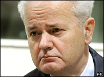 Slobodan Milosevic died at the detention unit in March