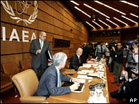 IAEA talks resume in Vienna