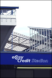 The Easycredit Stadion - soon to be the Franken Stadion