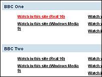 Screen grab of multicast trial