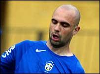 Lyon defender Cris